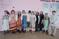 В школе села Ханино