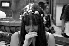 16 of 20 (Ricardo Blazquez) Tags: world barcelona door city flowers portrait bw white black window girl smile digital photoshop photo spain nikon pretty photoshoot d lol down 55mm photograph wish nikkor wonderland serie ily 18mm analogic 200mm 2015 d5100
