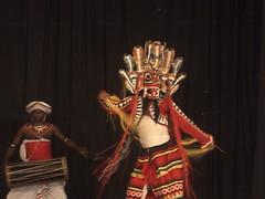 Dancer in Naga Raksha Mask