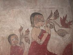 Beautiful Relief in Bagan Pagodas