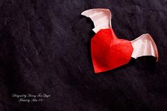 Angel Heart (Adri 79) Tags: angel paper origami heart hoangtienquyet adri79 sigma105mmf28macrodgoshsm adrianodavanzo