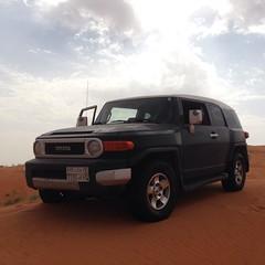 محمية الريم (Abdullah Al-Butairi) Tags: square squareformat toyota fj تطعيس الريم محمية iphoneography instagramapp