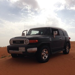(Abdullah Al-Butairi) Tags: square squareformat toyota fj    iphoneography instagramapp