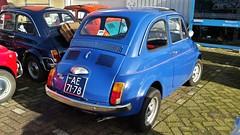 Fiat 500R (sjoerd.wijsman) Tags: auto blue holland cars netherlands car blauw fiat nederland thenetherlands voiture bleu zoetermeer vehicle holanda hatch autos 500 blau import paysbas olanda fiat500 hatchback fahrzeug bluecar niederlande zuidholland carspotting bluecars 500r carspot fiat500r sidecode1 01032015 ae7178
