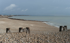 An Eastbourne Beach (grahambrown1965) Tags: sea beach water 35mm sussex pentax shingle eastbourne seafront limited eastsussex k20d justpentax pentaxk20d limitedlens smcpentaxda35mmf28macrolimited