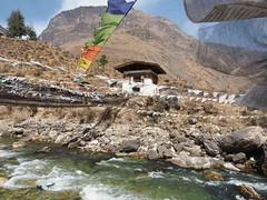 Tachog Lhakhang Dzong (alison ryde - back in town for now) Tags: travel holiday asia bhutan buddhist religion buddhism east february himalaya phototrip 2015 kingdomofbhutan himalayankingdoms kingdomofthedragon alisonryde olympusem1 ironchainbridge tachoglhakhangdzong bhutanesebuddhism