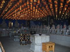 Inside a Miyajima Temple