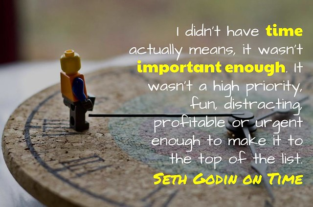 I Don't Have Time - Seth Godin