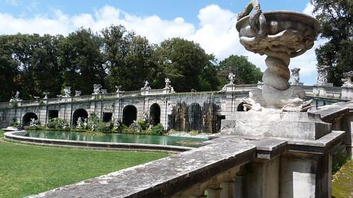 Reggia Caserta - Bourbon royal palace, water cascade, grotto (2)