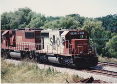 Summer classic (MILW157) Tags: road railroad train track sub double line soo watertown emd sd40 sd60 vettleson