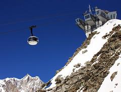 SkyWay - Punta Helbronner (Ste Cube) Tags: mountain montagna skyway montebianco valdaosta puntahelbronner 3500metri stecube skywaymontebianco