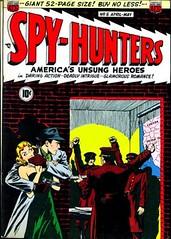 Spy Hunters 5 (Michael Vance1) Tags: art adventure artist anthology war spy comics comicbooks cartoonist silverage
