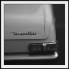 valiant (Andrew C Wallace) Tags: auto blackandwhite bw blur classic car lensbaby square ir automobile collingwood australia victoria retro chrome infrared valiant transmission tiltshift nikon50mmf14 torqueflight tilttransformer olympusomdem5 easeyst
