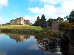 DSCN23474 (dkmcr) Tags: ripleycastle ripon yorkshire castle landscape scenery daytrip tourism outdoor heritage weddingvenue 27th september 2015 ripley lake reflection