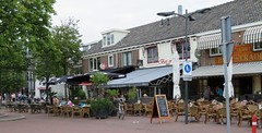 Castricum Dorpsstraat bars (GeRiviera) Tags: netherlands nederland noordholland dutch straat street castricum dorpsstraat