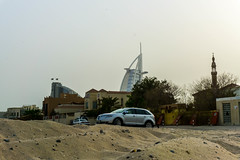 Dubai (mr_nkstyle) Tags: dubai burj al arab street city khalifa sun hot desert day