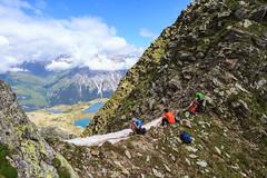 Surettaluckli Nord (Roveclimb) Tags: mountain alps suisse hiking riposo mountaineering rest alpinismo svizzera alpi montagna sella saddle klettern alpinism splugen spluga escursionismo suretta graubunden grigioni seehorn rothornli surettaluckli