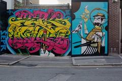 Inkie & SEPR (truxi) Tags: london londres sepr spray street streetart streetartlondon urban urbanart england