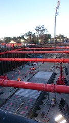 Sarcophagus is sealed - Bentleigh Station Level Crossing Removal Project (avlxyz) Tags: fb1 sarcophagus crypt concrete lxrp