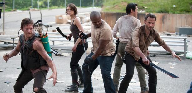 """Protagonistas de """"Walking Dead"""" comentam final da 6ª temporada da série"""