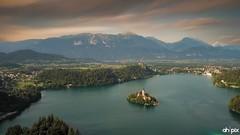 Lake Bled, Slovenia (Springer@WW) Tags: lake see bled slowenien slovenia nature natur europe europa sunset sonnenuntergang wasser water church kirche berge mountains longeexposure langzeitbelichtung landscape sony alpha7