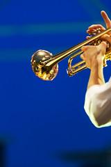 Almost blue (S. Hemiolia) Tags: trumpet tromba music musica live musicalinstruments musicalinstrument strumenti musicali blue blu oro gold ottoni brass simone copellini hands musicians musicisti mani mosso bluehour orablu strumentimusicali concerto concert simonecopellini jazz dixieland dixie