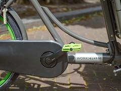 WorkCycles Kr8 Grey-Green-4 (@WorkCycles) Tags: amsterdam bak bakfiets bakfietsen bicycle bike box cargobike dutch family kr8 transport workcycles