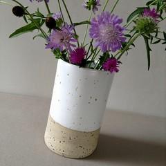 Stoneware Vase (Jude Allman) Tags: ceramics ceramic pottery pots pot jude allman etsy folksy flowers