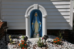 2056 the virgin known as Mary (Violentz) Tags: virginmary thevirginknownasmary mary virgin mother holymother blessedmother blessed hailmary handmaidenofthelord statue lawnstatue madonna holy icon god bible stjoseph babyjesus jesus ourlady ourladyofgrace ourladyofguadalupe ourladyoflourdes ourladyoffatima miriammotherofisa motherofgod bethlehem israelite jew nazareth galilee christianity catholic religion thetheotokos heymarywatchagonnanamethatprettylittlebaby