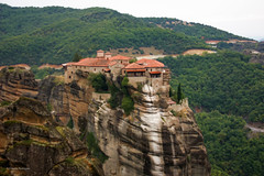 Monastery (claugrodriguez) Tags: mountain greece monastery meteora landscapephotography