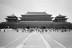Somewhere Forbidden City (Mar.clong) Tags: bw 135 ricoh gr1s