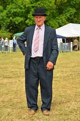 Dapper (alderney boy) Tags: yealmpton yealmptonshow southhams kitley agriculturalshow devon farming showground tie dapper oldtimer bowlerhat farmer