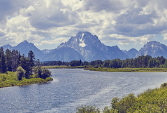 Oxbow (green2mm1) Tags: oxbow tetons mountains river bend trees nature park national us