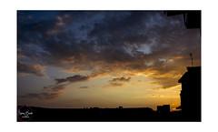 Sunset tonight. 26.07.16 (Marilena Zannotti) Tags: sunset shades napoli cold colors nikon d5200 passion love photographer