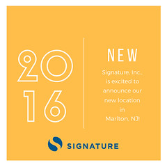 Signature Inc. is excited to announce our new second location! We can't wait to unlock this market! #MakeYourMark #SignatureTalent (signatureincNJ) Tags: signatureincnet signature inc reviews cherry hill new jersey