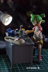 Yotsuba5 (ArchLancer) Tags: yotsuba revoltech animecharacter figure toy nikond7000 workstation cutetoysphotography