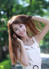 DP1U6192 (c0466art) Tags: lovely cute pretty university taiwan girl  beautiful eyes figure slim long hair sweet smile nextdoor kind charming gorgeous out door portrait light canon 1dx c0466art