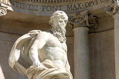 Ocean (machernucha) Tags: canon 1100d canon1100d rome italy holiday roma europe city ocean statue marble trevi trevifountain