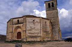 Iglesia templaria de la Vera Cruz File0024 (Rafael Jimnez) Tags: 1989 segovia diapositivas slides espaa spain temple templario iglesia church aboutiberia