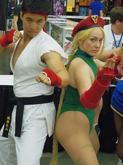 Ryu and Cammy (magnet_terp) Tags: baltimore baltimoreconventioncenter conventions cosplay otakon vacation ryu cammy streetfighter capcom otakon23 otakon2016 bcc