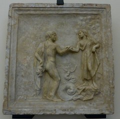 devine ce que je te ramne ! (canecrabe) Tags: mduse gorgone perse andromde basrelief farnse collection muse