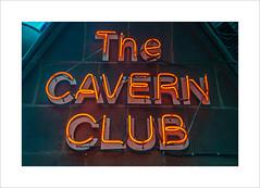 Neon (andyrousephotography) Tags: liverpool mathewstreet thecavernclub sign neon lighting cavern beatles music pop icons legends history fabfour john paul george ringo canon eos 5d mkiii