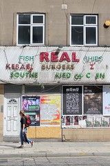 FISH REAL CHIPS KEBAB BURGERS Z SOUTHE RIED CH C EN (Towner Images) Tags: real limestreet shop shopfront liverpool towner townerimages merseyside demolition decay derelict