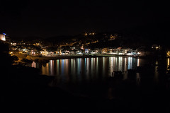 Tamariu by night (olivierr31) Tags: costabrava espagne light lumire mditerane night nuit panorama sea spain tamariu landscape mer paysage