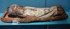 941Mummy with Likeness of Child Waving Goodbye (queulat00) Tags: egypt egipto britishmuseum london londres momias mummy
