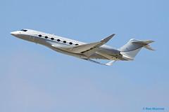 Million Air Dallas, Gulfstream G650 (GVI) (Ron Monroe) Tags: millionairdallas gulfstream g650 gvi lax klax bizjets businessjets corporatejets n650rr