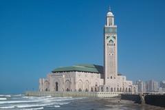 Mosque of Hassan II (Berkeley Study Abroad) Tags: ucberkeley universityofcaliforniaberkeley ucberkeleystudyabroad studyabroad calbearsabroad places berkeleystudyabroadphotocontest2016 casablanca morocco benjaminshenouda politicaleconomymajor uceducationabroadprogram uceap spring2016