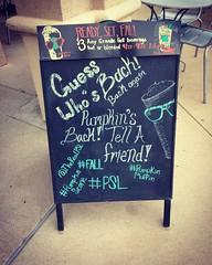 Eminem Lyrics on  Sign (booboo_babies) Tags: eminem lyrics blackboard chalkboard rapmusic rap 2000s pumpkinspicelatte coffee starbucks sign