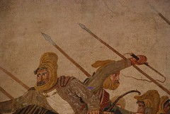 Battaglia di Isso (particolare) - Museo Nazionale - Napoli (spalluzza) Tags: napoli museoarcheologiconazionale pompei alessandromagno battagliadiisso mosaico casadelfauno