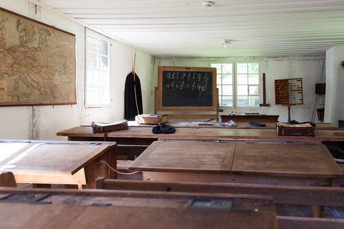 Salle de classe 1800